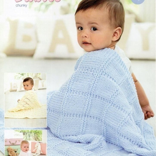 9348 Special for Babies Chunky Pattern