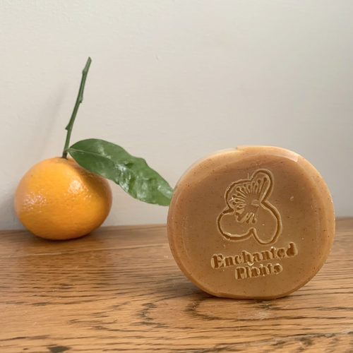 Tangerine Turmeric Soap