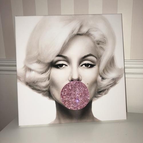 Glitter Canvas Marilyn Monroe