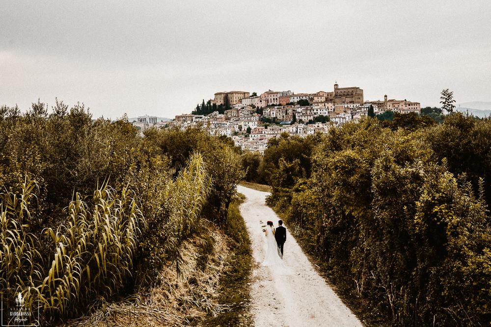 Hilltop Castle in Abruzzo