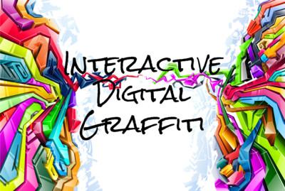 Digital Graffiti Wall Hire