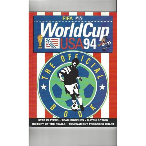 1994 Official World Cup Final Football Book