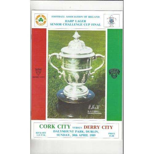Republic of Ireland Cup Final Football Programmes