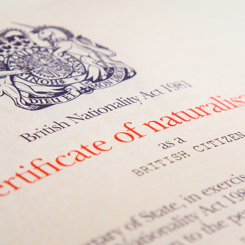 Apply for British Citizenship Birmingham, West Midlands, UK