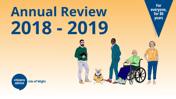 Read our Annual Review 2019