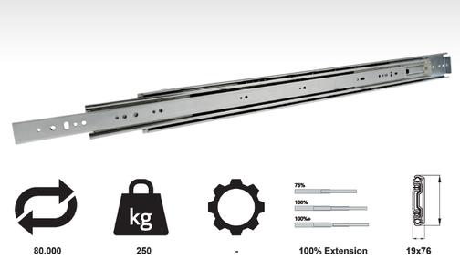 Model 7650 - Drawer Hardware