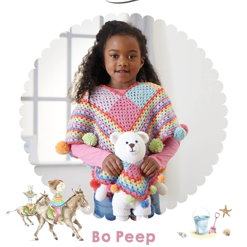 Bo Peep Great Adventures Crochet Pattern Book