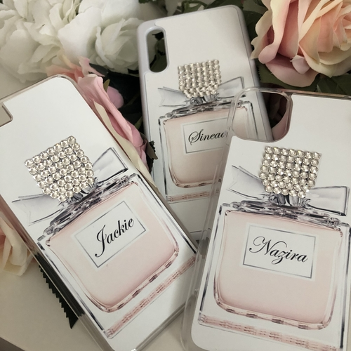Sparkly Crystal Business Logo Phone Case
