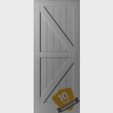 WKVE Brace Barn Door
