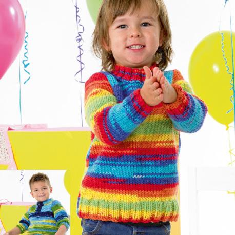 JB341 Childrens Chunky Pattern