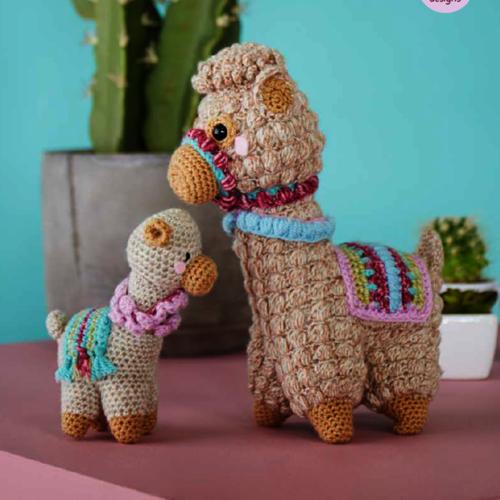 9595 DK Llama Crochet Pattern