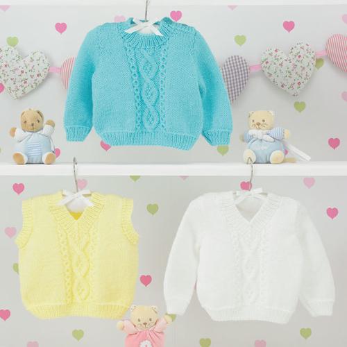 JB444 Baby DK Pattern