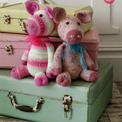 9353 DK Crochet Toy Pattern