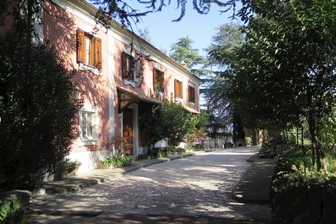 Private Vineyard Villa near Rome