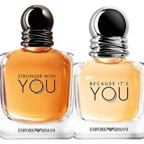 Because It's You & Stronger With You Combo By Giorgio Armani