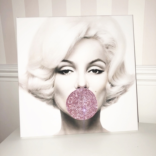 Glitter Canvas Marilyn Monroe