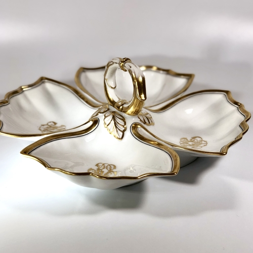 Gilded Old Paris Porcelain serving dish