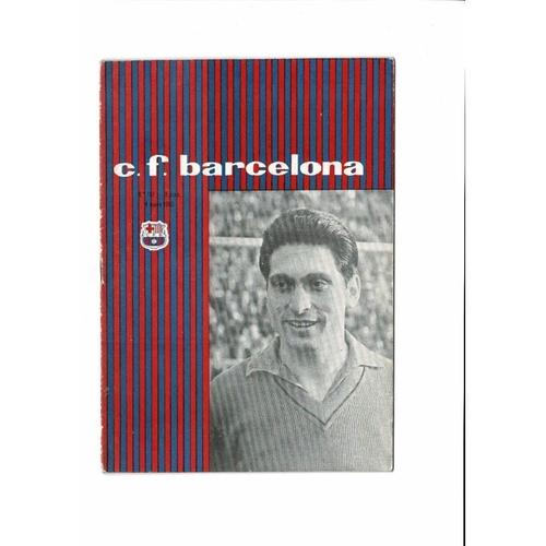 1960 Barcelona v Birmingham City UEFA Fairs Cup Final Football Programme