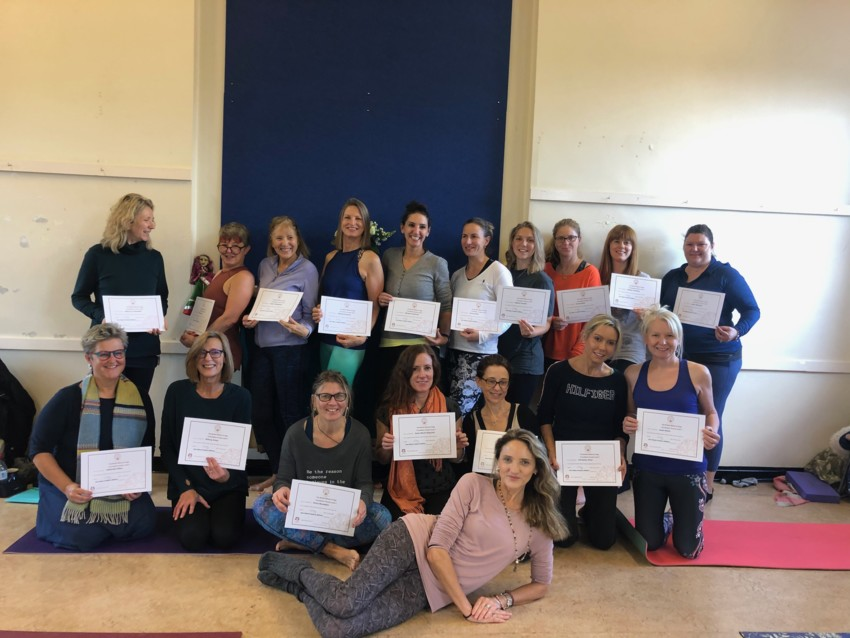 British wheel of yoga foundation course