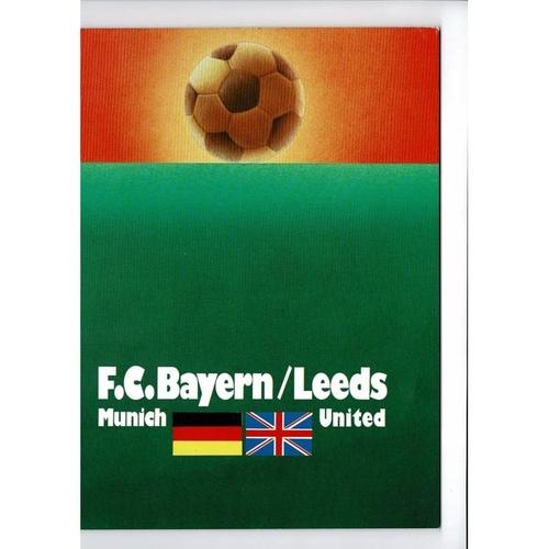 European Cup Final / Champions League Football Programmes