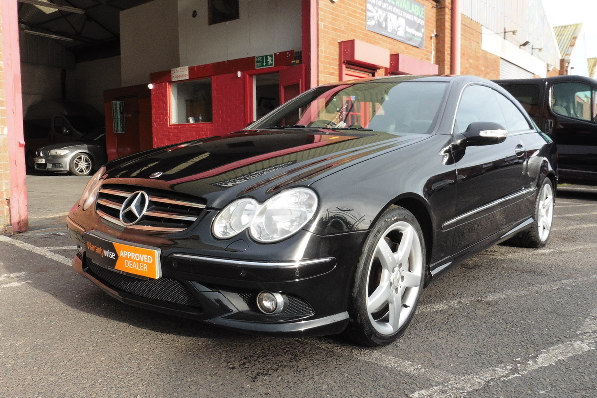 Mercedes-Benz CLK320 CDI Sport 7G-Tronic 2dr - Full Leather Interior!