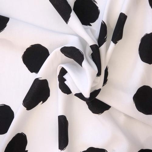 Scribbled Spots Viscose