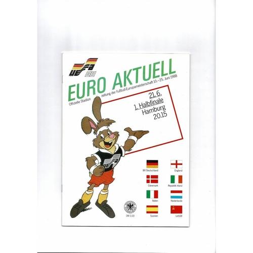 European Championship Football Programmes