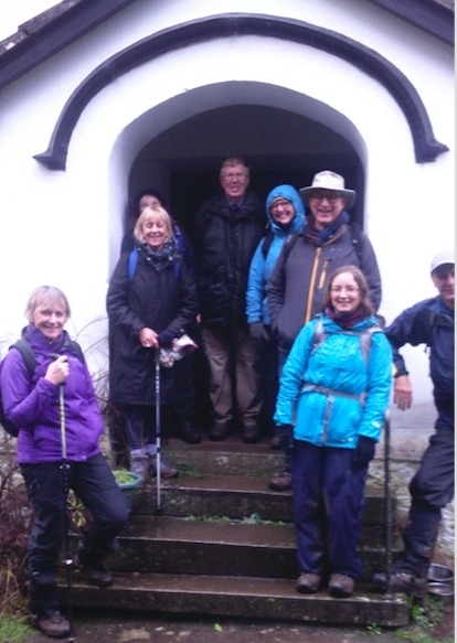 Day Walk to Tintern Abbey and the Wye Valley - January 2020