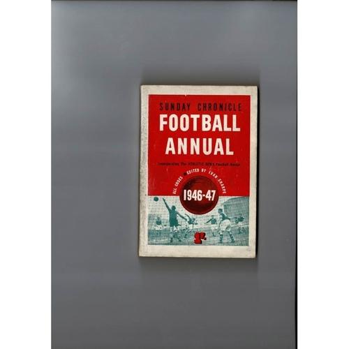 1946/47 Sunday Chronicle Football Annual