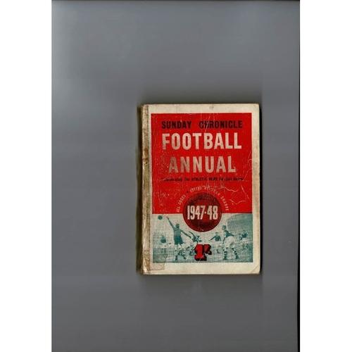 1947/48 Sunday Chronicle Football Annual