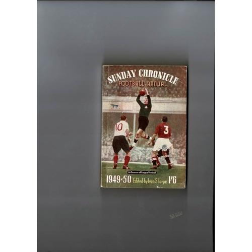 1949/50 Sunday Chronicle Football Annual