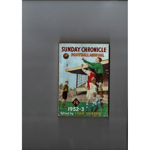 1952/53 Sunday Chronicle Football Annual