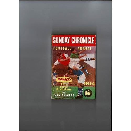 1953/54 Sunday Chronicle Football Annual
