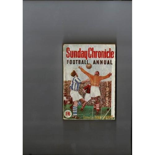 1954/55 Sunday Chronicle Football Annual