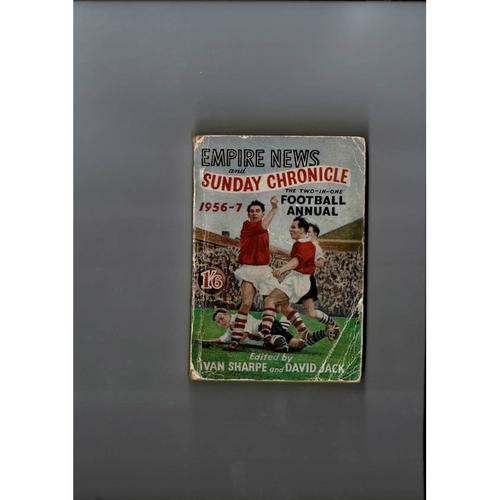 1956/57 Empire News & Sunday Chronicle Football Annual