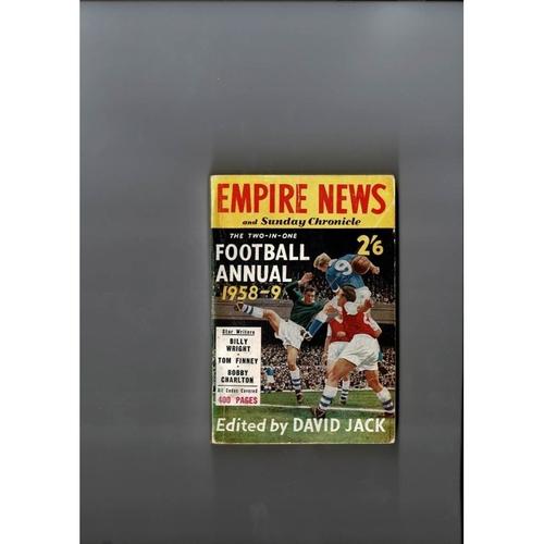 1958/59 Empire News & Sunday Chronicle Football Annual