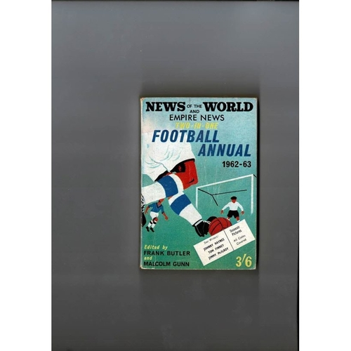 1962/63 News of the World Football Annual