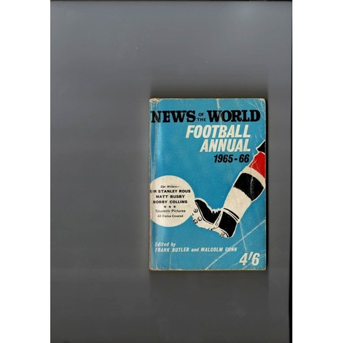 1965/66 News of the World Football Annual