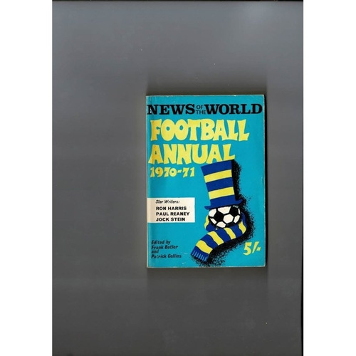 1970/71 News of the World Football Annual