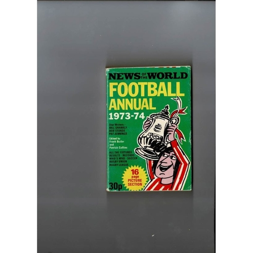 1973/74 News of the World Football Annual