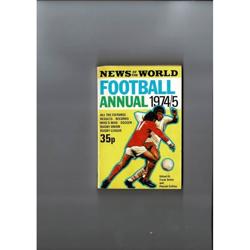 1974/75 News of the World Football Annual