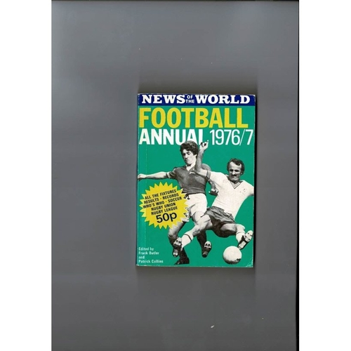 1976/77 News of the World Football Annual