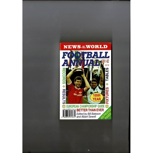 1991/92 News of the World Football Annual