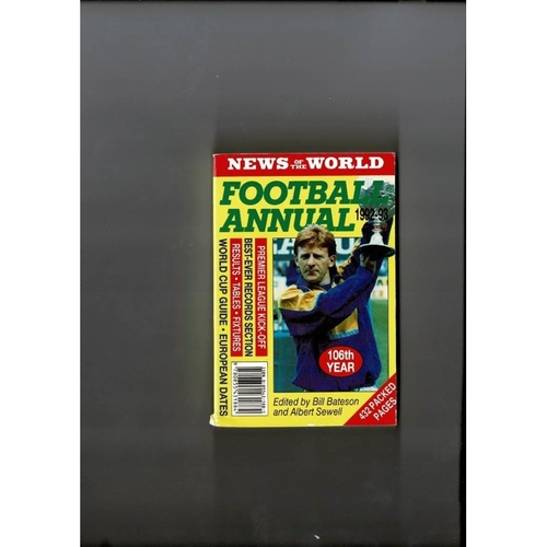 1992/93 News of the World Football Annual