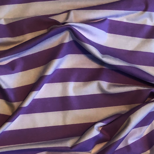 Tilly And The Buttons Wide Stripes Lilac Jersey
