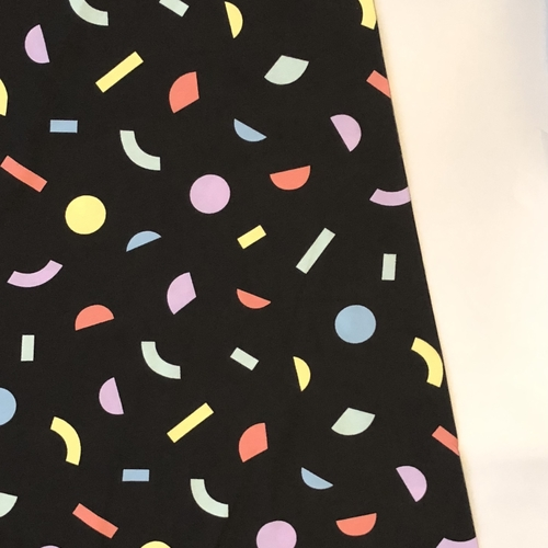 Tilly And The Buttons Geometric Multicolour Jersey