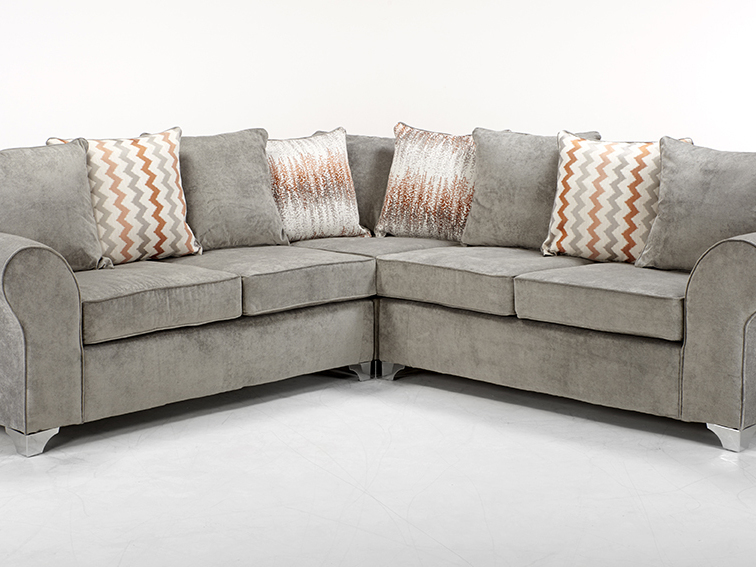 2 CORNER 2 CHARLOTTE SOFA IN KENSINGTON GREY
