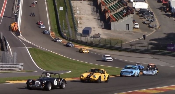 Morgan Challenge and Historic Racing at Spa Summer Classic 2018