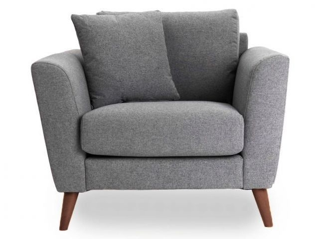KYLIE ARMCHAIR IN GREY SIERRA