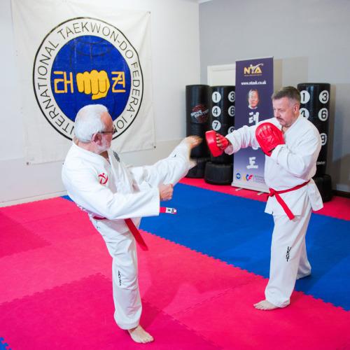 Martial Arts and Taekwondo for any age - keeping active